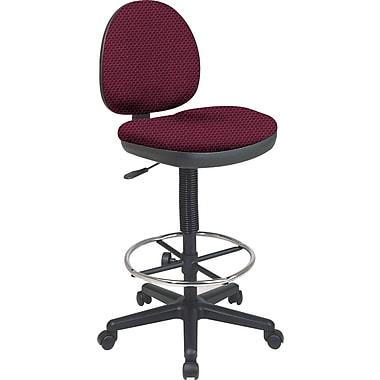 Office Star Custom Drafting Chair, Ruby