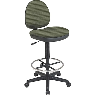 Office Star Custom Drafting Chair, Moss