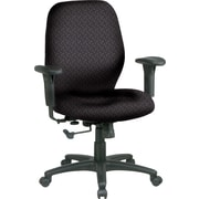 Office Star™ Fabric Managers Office Chair, Ash, Adjustable Arm (3121-217)