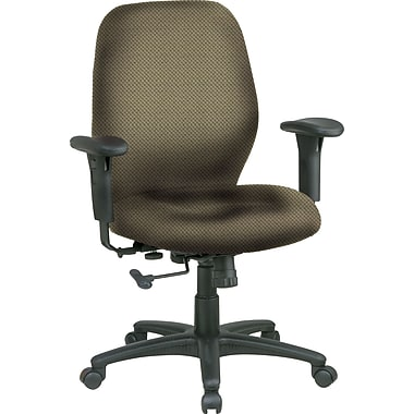 Office Star™ Custom Mid-Back Chair, Gold Dust