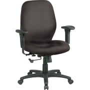 Office Star™ Custom Mid-Back Chair, Shale
