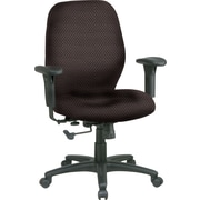 Office Star® Custom Mid-Back Chair, Taupe