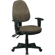 Office Star Custom Ergonomic Chair with Adjustable Arms, Gold Dust