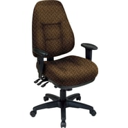 Office Star® Super Ergonomic High-Back Chair, Nugget