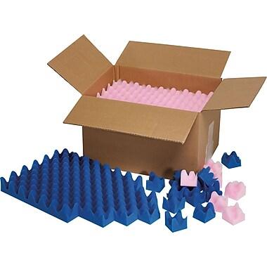 Feuilles de mousse souples EzeeTear, 24 po x 24 po x 2 po, 8 ensembles/paquet