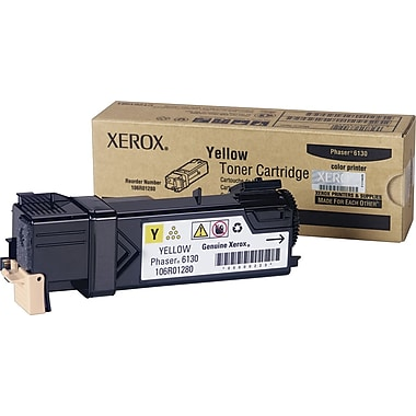 Xerox Phaser 6130 Yellow Toner Cartridge (106R01280)