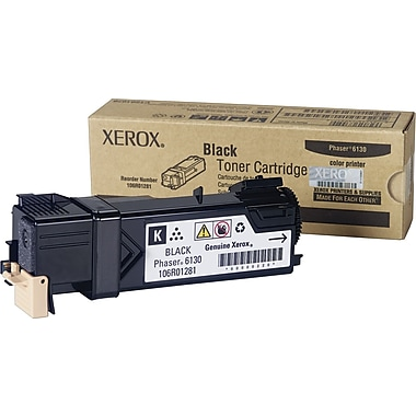 Xerox Phaser 6130 Black Toner Cartridge (106R01281)
