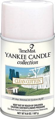 TimeMist Yankee Candle Air Freshener Refill, Clean