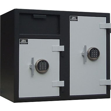 Mesa™ 6.7 Cubic Ft. Double Door Depository Safe with Standard Delivery
