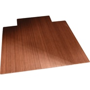 Anji Mountain Roll-Up Bamboo Chair Mats, Dark Cherry