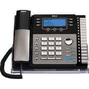 RCA 25424RE1 4-Line Expandable System Phone with Call Waiting/Caller ID