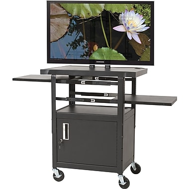 Balt® Adjustable Flat Panel TV Cart