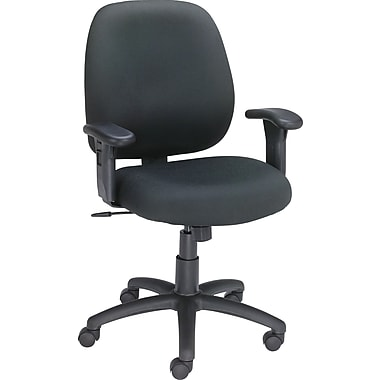 Staples® Haydn™ Fabric Task Chair, Black