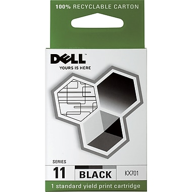 Dell Series 11 Black Ink Cartridge (KX701)