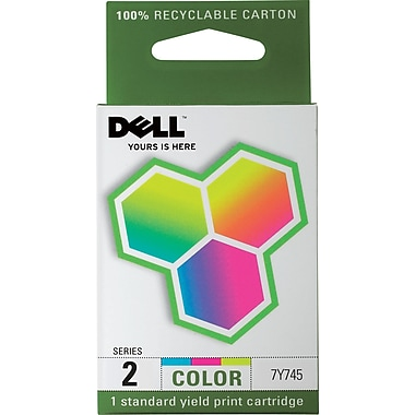 Dell Series 2 Color Ink Cartridge (7Y745)