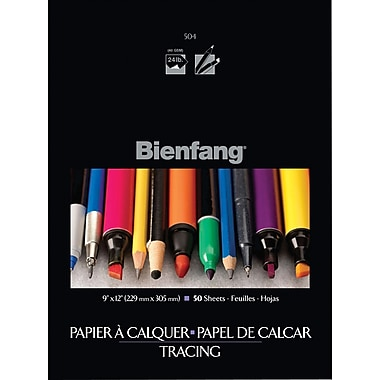 Bienfang Parchment  Tracing Paper, 9in. x 12in.