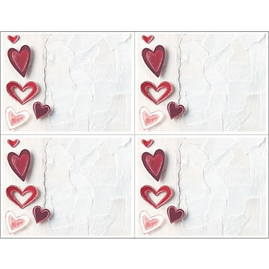 Great Papers­­® Paper Hearts 4-Up Postcards