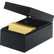"SteelMaster® 4"" x 6"" Index Card Files"