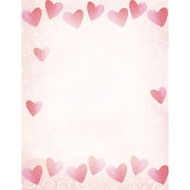 Great Papers® Red Hearts Letterhead