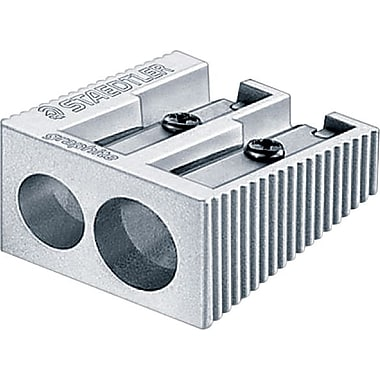 Staedtler® Wedge 2-Hole Pencil Sharpener