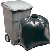 Brighton Professional™ Super Heavy Strength Trash Bags, Black, 45 gal.