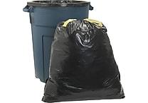 Brighton Professional™ Trash Bags, Drawstring, Black, 33 Gallon, 30 Bags/Box