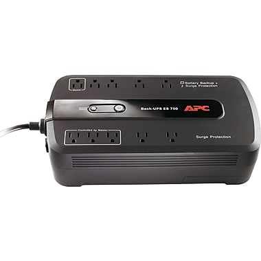 APC Back-UPS® ES 750VA 10-Outlet Power-Saving UPS
