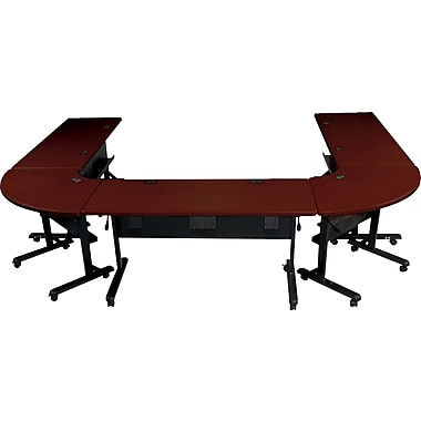 Balt Laminate Flipper Training Tables Black Base