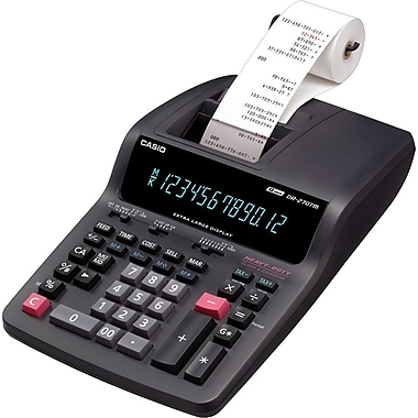 Casio DR-270TM Desktop Printing Calculator, Black