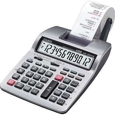 Casio HR-100TMPlus Printing Calculator