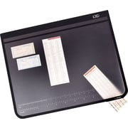 "Artistic™ Logo Pad™ Lift-Top Desk Organizer, Black, 20"" x 31"""