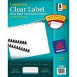 Avery Index Maker® Unpunched White Dividers, 8-Tab, 25 Sets/Pack