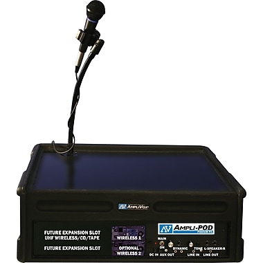Amplivox SW124 Wireless AmpliPod Podium PA
