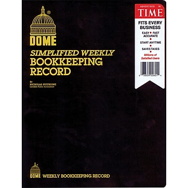 Dome® Weekly Bookkeeping Record