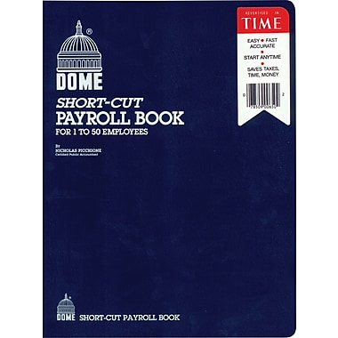 Dome Shortcut Payroll Books