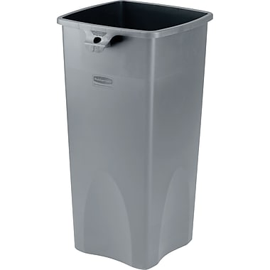 Rubbermaid® Untouchable® Plastic Waste Receptacles & Lids