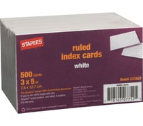 Index Cards & Files