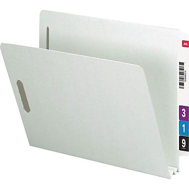 Smead® End-Tab Pressboard Fastener Folders