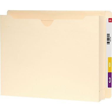 Smead® End-Tab File Jacket with 2in. Expansion, Letter Size, 25/Box
