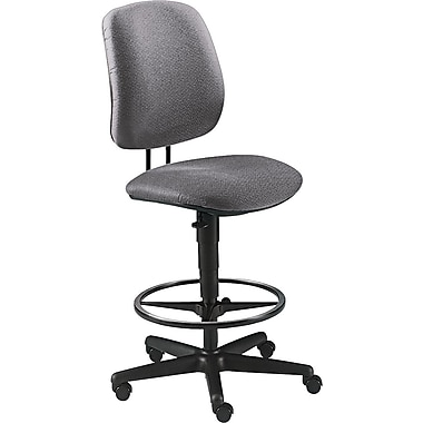 HON® 7700 Series Armless Gray Swivel Task Stool