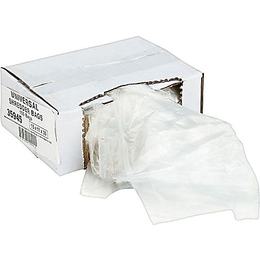 Universal Recycled Shredder Bags 15in. x 11in. x 30in.