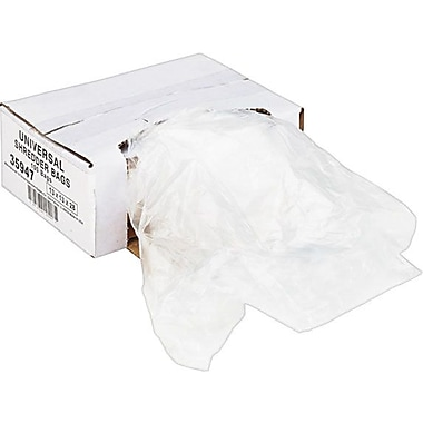 Universal Recycled Shredder Bags 13in. x 13in. x 28in.