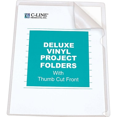 C-Line® Deluxe Super Heavyweight Vinyl Project Folders