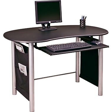OSP Designs™ Saturn Computer Desk, Black