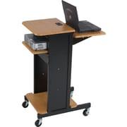 Balt® Teak Presentation Cart