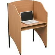 Balt Add A Carrel 32.67'' Study Carrel, Teak (89868)