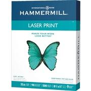 "Hammermill® Heavyweight Laser Print Paper, 32lb, 8 1/2"" x 11"", 500/Ream (104646)"