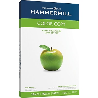 HammerMill® Color Copy Digital Paper, 11in. x 17in., Ream