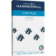 "HammerMill® Copy Plus Copy Paper, 8 1/2"" x 14"", Ream"