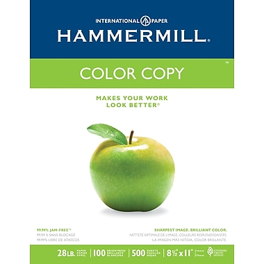 HammerMill® Color Copy Digital Paper, 8 1/2in. x 11in., Ream